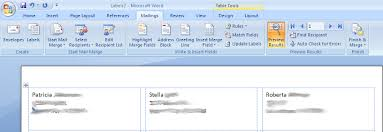 Microsoft Word Labels Mail Merge Repeats On Subsequent Pages
