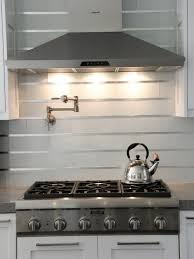 Kitchen Stick On Backsplash Stainless Steel Stick On Backsplash Home Design Ideas