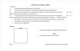 Sickness Certificate Format Free Fake Medical Certificate Template Condo Financials Com