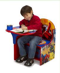 delta enterprise spiderman chair desk with storage bin niftywarehouse
