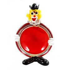 1 murano clown as an ashtray murano to 1950 60