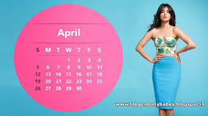 Sonal Chauhan April Calendar Wallpaper 2015 http.