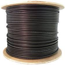 ft bulk cat black cmxt ethernet cable solid utp spool direct burial outdoor rated cat6 black ethernet cable solid cmx waterproof tape