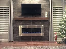 gas fireplace doors reface by and mantle natural glass open or closed