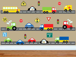 car wall decals for nursery transport wall stickers wall decals