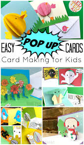 easy pop up card how to projects do you or your kids teehee