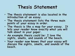 descriptive writing what is descriptive writing a descriptive  thesis statement the thesis statement is also located in the introduction of an essay the