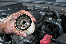 diy changing oil filter without