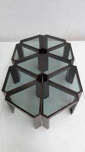 Coffee Table, Best Black And Clear Rectangle Modern Metal And Glass Modular  Coffee Table Design