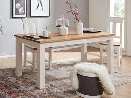 Esstisch Esszimmer Tisch Bari 180 X 90 Cm Pinie Nordica Weiß