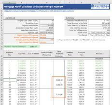 Additional Principal Payment Calculator Extra Principal Payment Calculator Payment