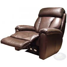 georgia leather electric recliner chair