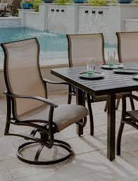 Aluminum Patio Furniture  Sling Furniture  Todayu0027s Patio U0026 Pool Outdoor Sling Furniture