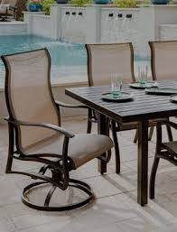 home outdoor furniture aluminum furniture sling furniture albany sling collection