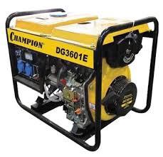 <b>Дизельный генератор CHAMPION</b> DG3601E (2700 Вт) — купить ...