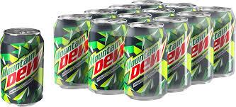 Купить <b>Газированный напиток MOUNTAIN</b> DEW ж/б, 0.33л в ...