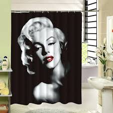 lips shower curtain with red lips and curls are so beautiful and y waterproof polyester shower curtain character pattern for decor in shower curtains