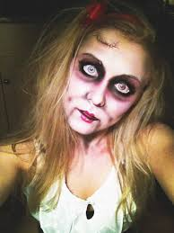 scary doll makeup