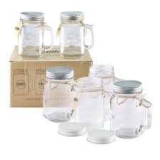 Cheap canning jars Pint Smiths Mason Jars Smiths Mason Jars 16 Oz Mason Jar Mugs With Lids