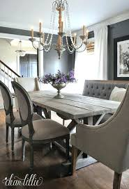 Chic Dining Room Ideas Shabby Pictures Best On Table With