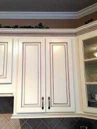 Cabinet Glaze Pen Glazed Kitchen Cabinet Makeover Here A Dark