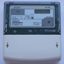 elster a1100 mid kwh polyphase direct connected meter uk504 060
