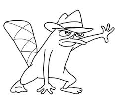 Small Picture Fun Coloring Pages Phineas and Ferb Coloring Pages
