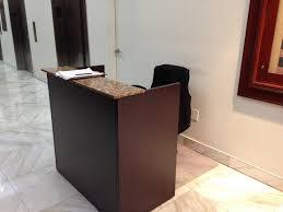small office reception desk. Fine Reception Small Reception Desk And Chair Throughout Office T