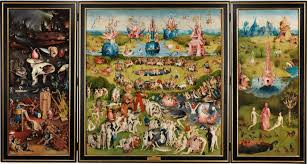 garden of earthly delights poster. Photo 5 Of 6 The Garden Earthly Delights Triptych - Collection Museo Nacional Del Prado (ordinary Poster E