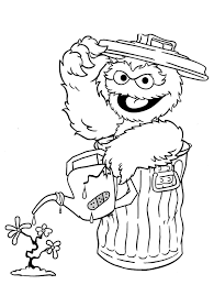 Small Picture Coloring Pages Printable Elmo Coloring Pages