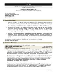 sample clinical nurse specialist resume free federal resume sample from resume prime