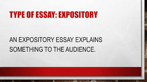 thesis statements how to then do type of essay analytical an 4 type of essay expository an expository essay explains something to the audience