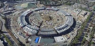 overall high view apple new office