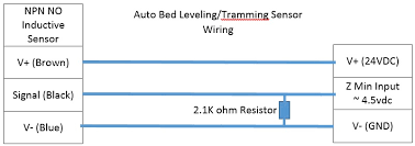 auto bed leveling tramming sensor wiring rigidwiki Npn Sensor Wiring Diagram wiring diagram jpg pnp sensor wiring diagram