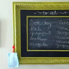 i love the look of a framed chalkboard but those ers are expensive here s
