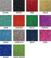 Ultra Sparkle Glitter Material Color Charts S S Custom