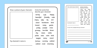 design a character writing frames design a character writing frames characters diffe