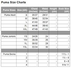 Puma Bra Size Chart Sale Up To 72 Discounts