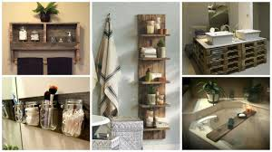 Pallet Wall Bathroom 17 Pallet Projects You Can Make For Your Bathroom O Pallet Ideas