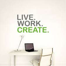 create vinyl stickers. Perfect Vinyl Live Work Create Quote Wall Sticker Motivational Cut  Vinyl Removable Decal Inspirational In Stickers