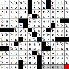 Abrade Crossword Clue 7 Letters, Vikingchess Author At La Times Crossword Page 105 Of 299