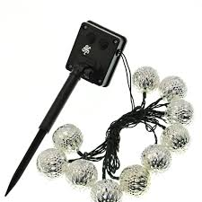 Amazoncom  LE 100 LED Solar String Lights 49ft15m Waterproof Solar Powered Fairy Lights Warm White