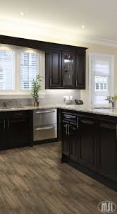 Dark Kitchen Cabinets Design Ideas Moon White Granite Dark Kitchen Cabinets Kitchen Design