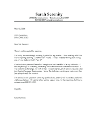 Modern Cover Letter Format Cover Letter Format Examples Template For