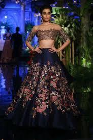 Manish Malhotra Designer Long Skirts Manish Malhotra Skirt Offshoulder Lehenga Indian Bridal