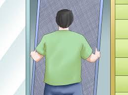 patio screen door rollers post