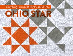 Star Pattern Quilt Beauteous Everything You Need To Know About The Ohio Star Quilt Pattern Suzy