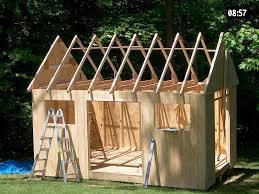 Small Picture Build Your Own Garden Shed Plans Cool Shed Design