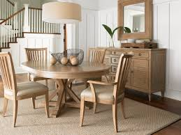 lexington monterey sands 5 pc san marcos dining table and alameda chairs set in sandy brown by dining rooms