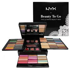 nyx has some makeup sets but you can also single eyeshadows blushes a bride should definitely